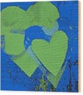 Luv-2 Wood Print by Dorothy Rafferty