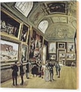 Luxembourg Palace. One Of Its Halls Wood Print