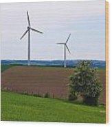 Luxemburg Views Wood Print