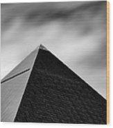 Luxor Pyramid Wood Print