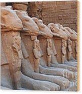Luxor Temple 3 Wood Print