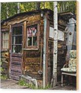 Luxury Ski Lodge In Telluride Co Dsc07461 Wood Print