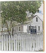 Lydia Leister Farm - Civil War Hospital Wood Print