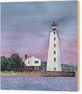Lynde Point Lighthouse Wood Print