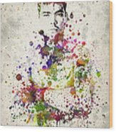 Lyoto Machida Wood Print