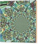 Lyrical Tree Mandela Wood Print