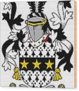 Lyster Coat Of Arms Irish Wood Print
