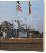 Lz Oasis 3d Brigade None Better Headquarters 4th Infantry Division Vietnam  1969 Wood Print