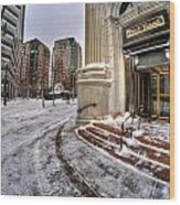 M And T Bank Downtown Buffalo Ny 2014 Wood Print