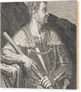 M Silvius Otho Emperor Of Rome Wood Print by Titian