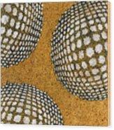 M U M 2 - Bulge Dots Wood Print