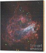 M17, The Omega Nebula In Sagittarius Wood Print