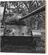 M47 Patton Tank Wood Print