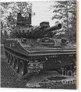 M551a1 Sheridan Tank Wood Print