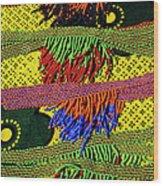 Maasai Beadwork Wood Print