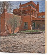 Mabel Dodge Luhan House  Wood Print