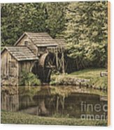 Mabry Mill 2 Wood Print