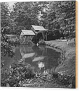 Mabry Mill 2 Wood Print