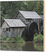 Mabry Mill - Blue Ridge Mountains Wood Print