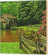 Mabrys Mill Wood Print