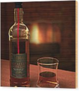 Macallan 1973 Wood Print by Adam Romanowicz