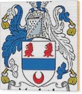 Macardle Coat Of Arms Irish Wood Print