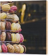 Macarons Wood Print