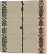 Macateer Written In Ogham Wood Print