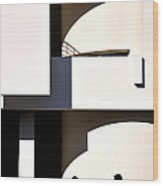 Macba 1 Wood Print