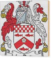 Macbride Coat Of Arms Irish Wood Print