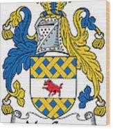 Maccann Coat Of Arms Irish Wood Print