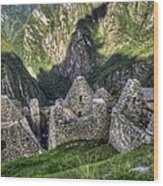 Macchu Picchu - Peru - South America Wood Print