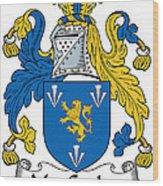 Maccoglan Coat Of Arms Irish Wood Print