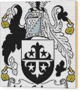 Maccolman Coat Of Arms Irish Wood Print