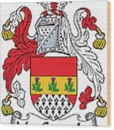 Macconaghy Coat Of Arms Irish Wood Print
