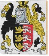 Macconsidine Coat Of Arms Irish Wood Print