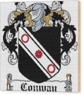 Macconway Coat Of Arms Irish Wood Print