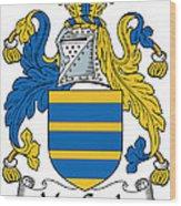 Maccoyle Coat Of Arms Irish Wood Print