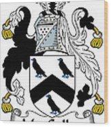 Maccullen Coat Of Arms Irish Wood Print