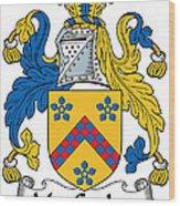 Maccusker Coat Of Arms Irish Wood Print