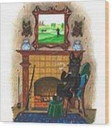 Macduff After Huntung Wood Print