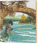 Macduff Fishing Wood Print