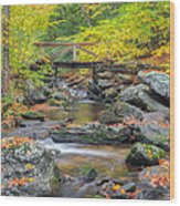 Macedonia Brook Square Wood Print