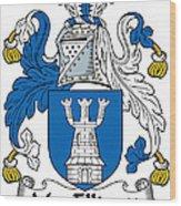 Macelligott Coat Of Arms Irish Wood Print