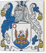 Macenery Coat Of Arms Irish Wood Print