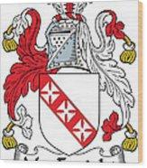 Macenright Coat Of Arms Irish Wood Print