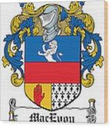 Macevoy Coat Of Arms Meath Ireland Wood Print