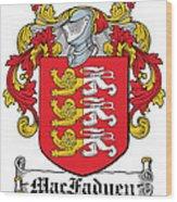Macfadyen Coat Of Arms I Irish Wood Print