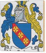 Macfadyen Coat Of Arms II Irish Wood Print