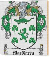 Macgarry Coat Of Arms Irish Wood Print